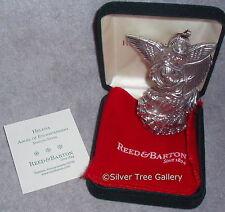 MIB 2004 Reed Barton Sterling Silver Annual Angel Helena Xmas Ornament Pendant