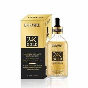 Dr.Rashel 24K Gold Radiance & Anti Aging Primer Serum – 100ml,