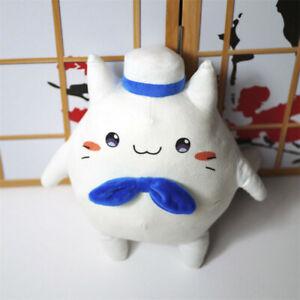 Anime Azur Lane John Cute Cat Plush Toy Soft Stuffed Doll Cosplay Props Kid Gift