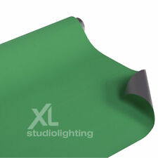ChromaKey Green & Grey Photo Background Vinyl - 2.7m x 6m Double Sided Backdrop