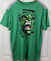 Incredible Hulk Official Marvel green gray mens graphic t shirt size M 38/40