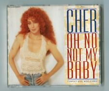 Cher Maxi CD Oh No Not My Baby 1992 Geffen ged21765 german-4-track Love Hurts