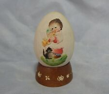 Anri Ferrandiz 1979 Egg on Stand