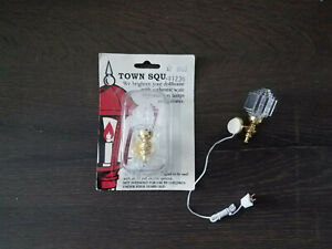 Town Square Miniatures dollhouse wall light NEW T8562 - Set of 2 included