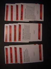 12 Adeptus Astartes Kill Team Tactics Cards
