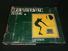 1973 Computamatic Tennis Electronic Data Controls Vintage Electronic Game