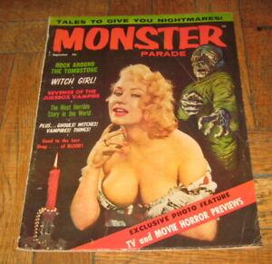 MONSTER PARADE  VOL. 2  NO. 6  SEPT. 1958  MAGNUM PUBL.
