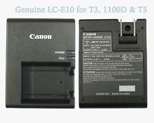 NEW Genuine Canon Rebel T3 T5 T6 T7 Camera Charger LP-E10 LC-E10 Authentic Rebel