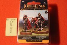 Games workshop Señor De Los Anillos Aragorn pie montado finecast LOTR Puerta Negra