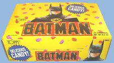 1989 - TOPPS - BATMAN - CANDY FILLED HEADS - 24 COUNT - COMPLETE - BOXED