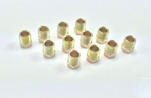 "Inverted Flare Tube Nut for 3/8"" Tube (5/8-18 threads) (Pack of 12)"