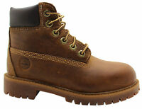 Timberland Earthkeepers EK 6 Inch Youth Kids Lace Up Brown Boots 80704 T2G