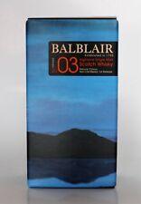BALBLAIR 2003 VINTAGE  - Single Malt Whisky 46% 1x0,05L Miniatur