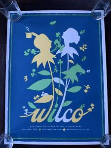 Wilco Poster 7/18/09 - Limited edition #10/50