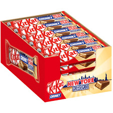 (1000g=9,91€) KitKat Chunky New York Cheesecake Limited Edition 24 Schokoriegel