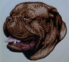 New ListingDogue De Bordeaux Dog Breed Bathroom Set Of 2 Hand Towels Embroidered