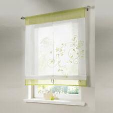 Vorhang Fenstervorhang Raffrollo Raffgardine Scheibengardinen Gardine 4 Größe