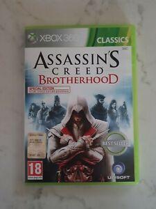 Assasin's Creed Brotherhood Xbox 360 originale in italiano