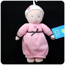 NWT~CARTERS~BABY GIRLS Doll/Dolly Toy~Pink + Brown w/hearts~blond~Newborn+Reborn