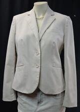 Body by Victoria stone blazer cotton stretch sexy suit Jacket light coat 10 NEW