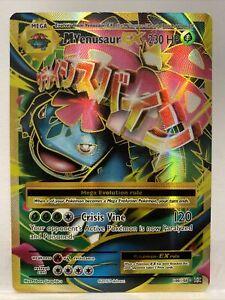 Mega Venusaur EX 100/108 - Full Art Ultra Rare - XY Evolutions Pokemon Card MINT