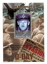 VINTAGE CLASSICS - Maldives 0410 D-Day World War II - Souvenir Sheet - MNH