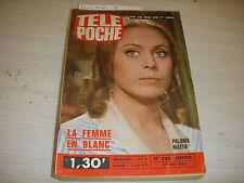 TELE POCHE 380 23.05.1973 Paloma MATTA BASKET Jacques CACHEMIRE Patricia LESIEUR