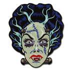 Bride of Frankenstein Patch Iron On Classic Goth Horror Retro Vintage Halloween