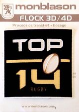 2016-17 France TOP 14 Rugby Union MONBLASON Lextra Badge Patch