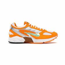 Nike Men's Air Ghost Orange Peel At5410-800 Orange/Aphid Green/Platinum Sz 6-12