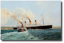 RMS Titanic by Robert Taylor  - Marine Artwork - Decor