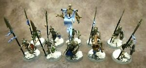 Warhammer Age of Sigmar Grand Alliance Deathrattle Skeletons x10 Good Paint