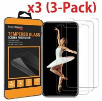 3XPremium Tempered Glass Film Screen Protector for iPhone 6 7 8 Plus X XS Max XR