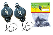 Grow Yo-Yo - Adjustable Light Hanger Hydroponic Indoor Grow Room Light