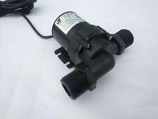 Solar DC 12V 24V Hot Water Circulation Pump Brushless Motor Water Pump 1000L/H