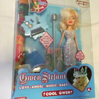2006 Huckleberry Toys Gwen Stefani Cool Doll New in Box with Poster & More