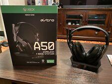 Astro A50 Over-the-Ear Wireless Headphone - Black + MOD KIT