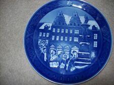 "Royal Copenhagen Demark Christmas At Amagertory 7"" Plate 2009"