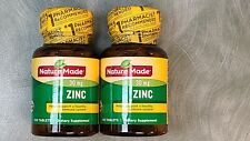 NATURE MADE Zinc 30mg Immune Health 200 Tablets Exp 09/2023 New Sealed Fast Ship