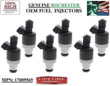 OldsMobile Cutlass Ciera 2.8L 3.3L V6/ OEM #17089569 Rochester x6 Fuel Injectors