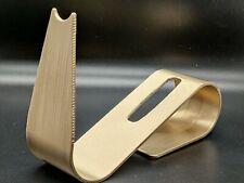 Golden gun James Bond Prop Cosplay 3D Printed PLA plastic & painted in gold