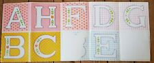 My Little Pony G1 Lullaby Nursery Large Letter Stickers 1984