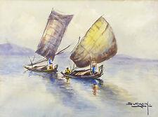 Dedy SURATIN(1900-1979)MARINE CHINA CHINE ASIATIQUE ASIE ASIA ASIAN CHINESE