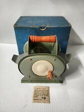 Vintage Nestor Johnson Mfg Co Model 5-P Card Shuffler 1950s W/Box