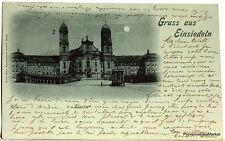 CPA  Precurseur SUISSE GRUSS AUS EINSIEDELN  1906  scan ht def  Lae502