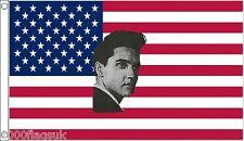 Elvis Presley United States de America USA 3'X2' Drapeau