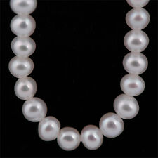 Real Freshwater 3-3.5mm A Pearl Necklace & Sterling Silver Clasp