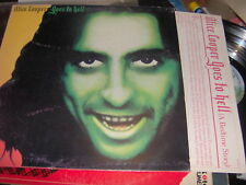 "LP 12"" ALICE COOPER GOES TO HELL ITALY 1976 EX+ CON INNER SLEEVE"