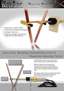 Brazing torch for arc welder