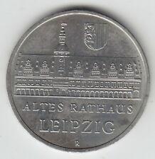 DDR 5 Mark Rathaus Leipzig 1984, Münze, Gedenkmünze, Coin